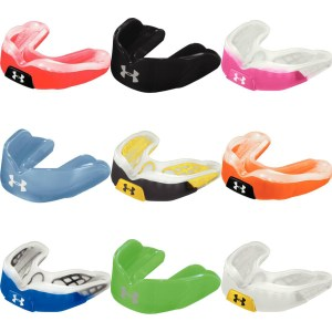 collage of under armour sport mouthguards