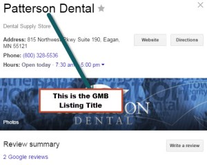 Google My Business for Dental Practices: Part 2