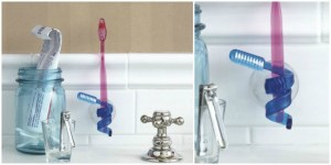 abstract toothbrush holding toothbrush holder