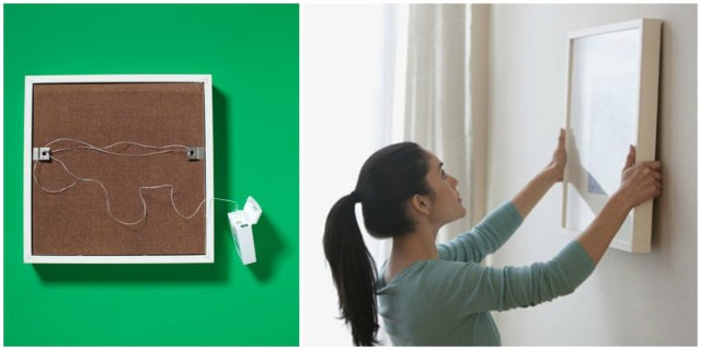 floss to hang a picture