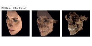 integrated face scan