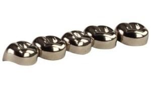 Hu-friedy stainless steel pedo crown refills