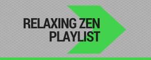 relaxing zen playlist on spotify