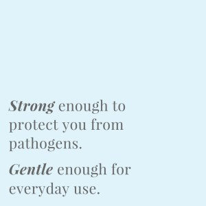 Be both sensitive and strong