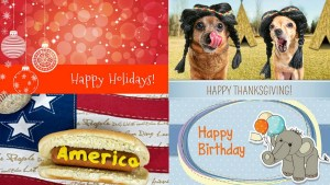 revenuewell holiday and birthday cards