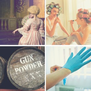 Medical gloves and other powdered items that have fallen out of favor