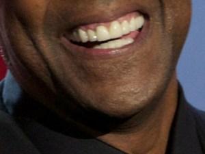 denzel washington smile closeup