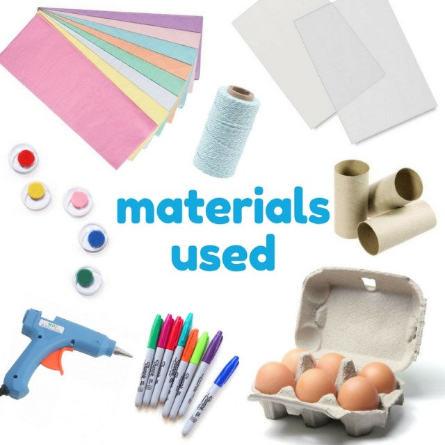 materials used to make dental easter eggs