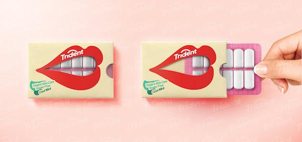 creative dental advertising trident gum