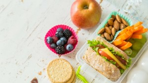 healthy snacks on table