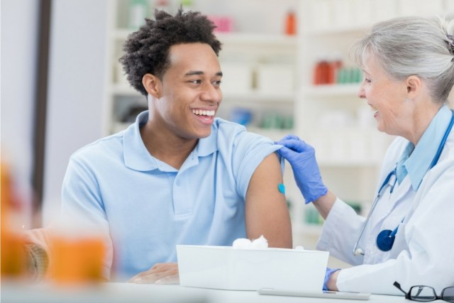 keep staff healthy by offering flu shots