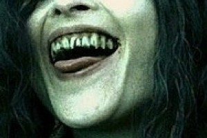 Bellatrix LeStrange Smile Closeup