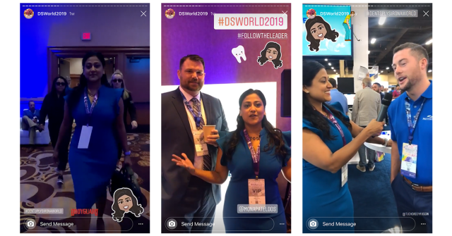 Images from Dr. Patel's Instagram takeover.