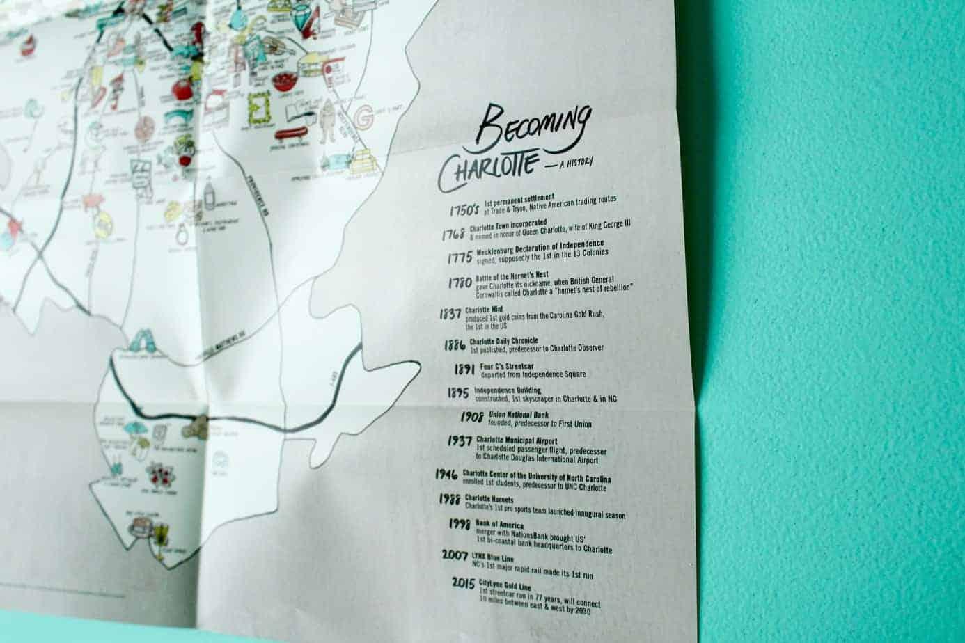 charlotte adventure map | off the eaten path