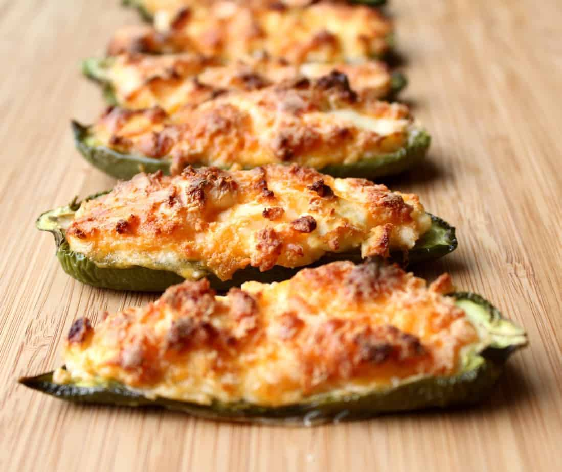 Pepper Poppers Recipe: Roasted Jalapeno Poppers