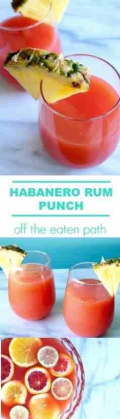 habanero rum punch