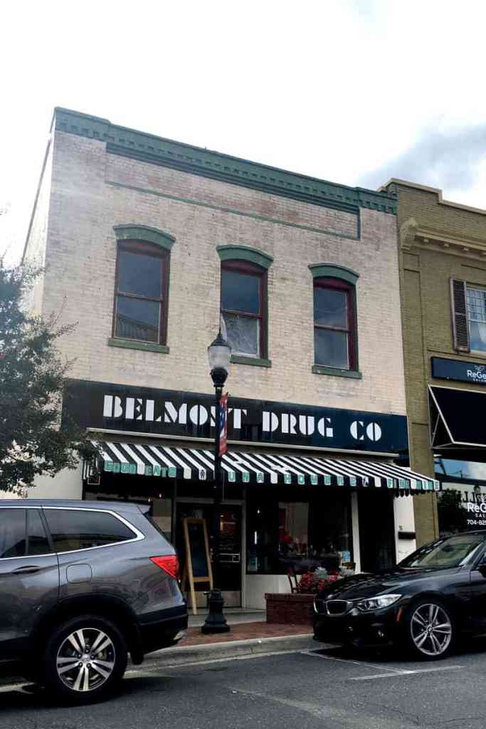 gaston county restaurants luna-hombre-belmont-drug-building