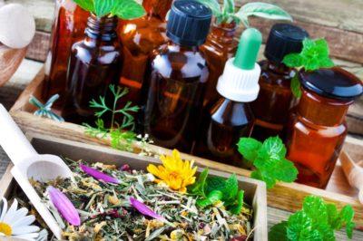 essential oils healing herbs