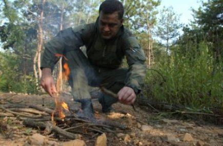 How to start a fire without firestarter
