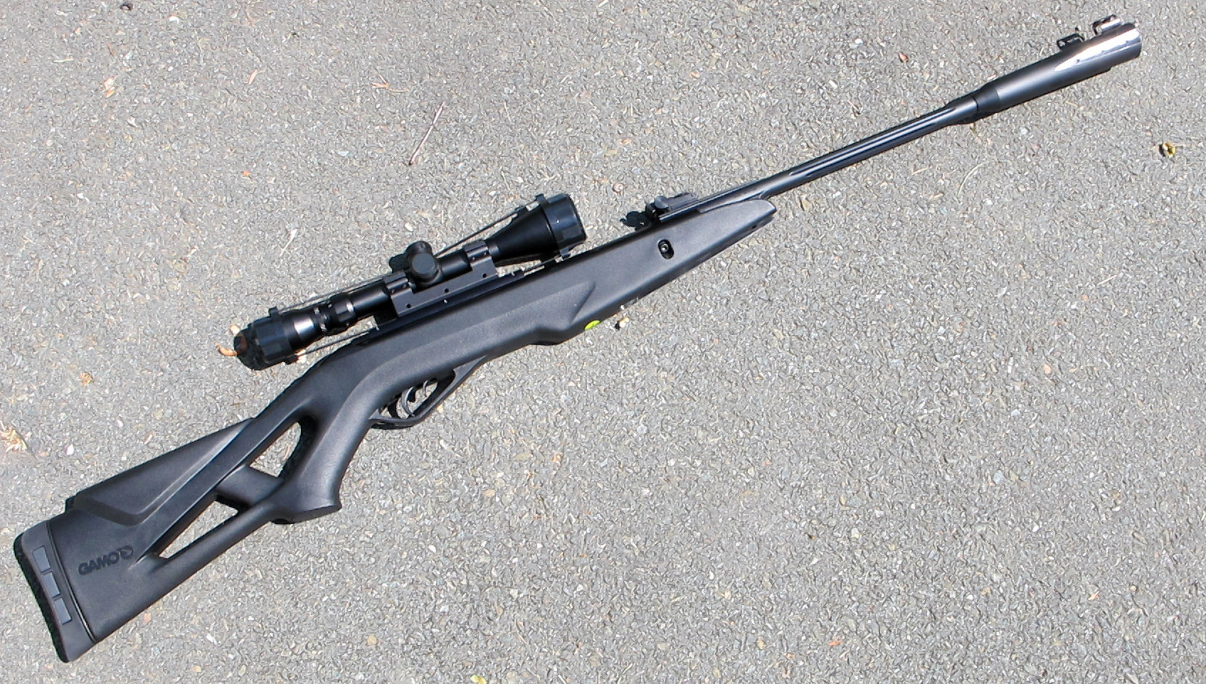 Gamo Whisper Rifle 177 Cat Silent Caliber Air