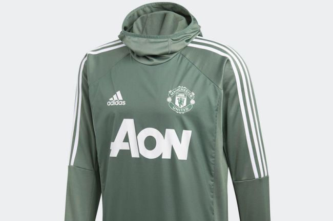 Photos Man Utd Launch New Green Training Kit Off The Post