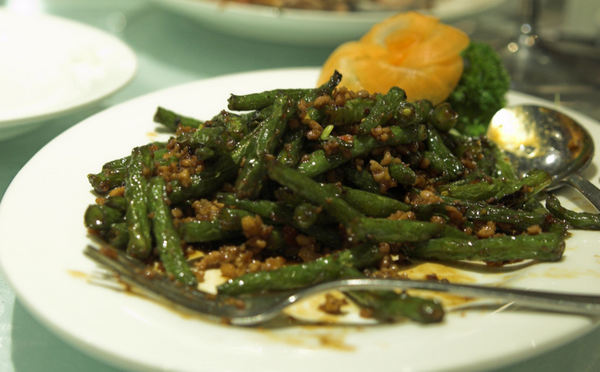 Green beans and minc