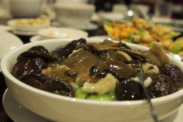 Fish Maw and Chinese Mushroom