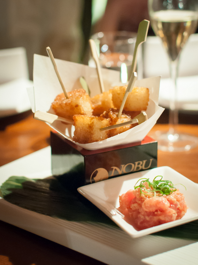 Nobu fried sushi rice