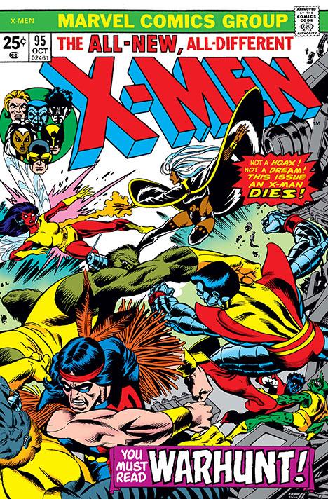 X-Men #95 cover