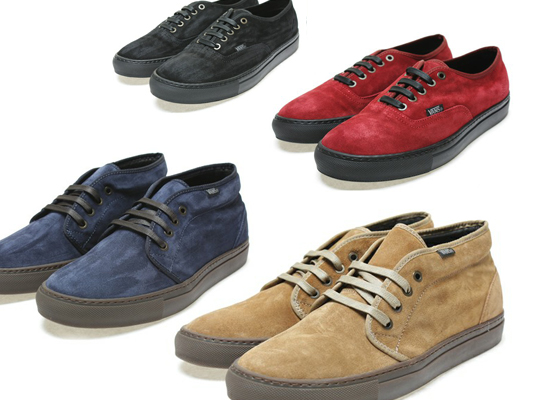 Vans Japan Suede Pack Fall 2010 7a9a4d8a9