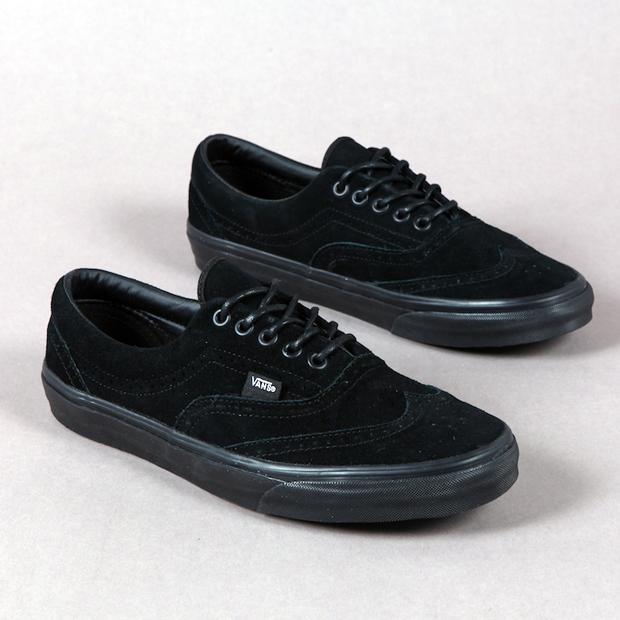 """Vans – Era """"Wingtip"""" Black (Spring Summer 2011) b99209453"""