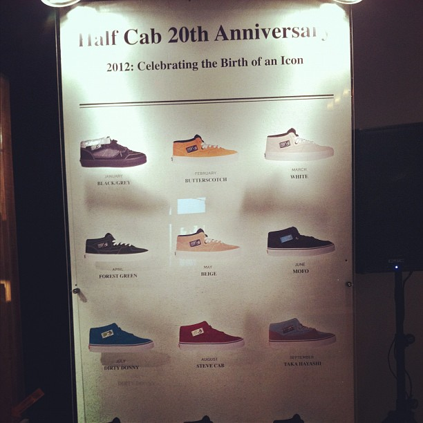 Vans – Half Cab 20th Anniversary (more leaks!) 83c3a9a109fb