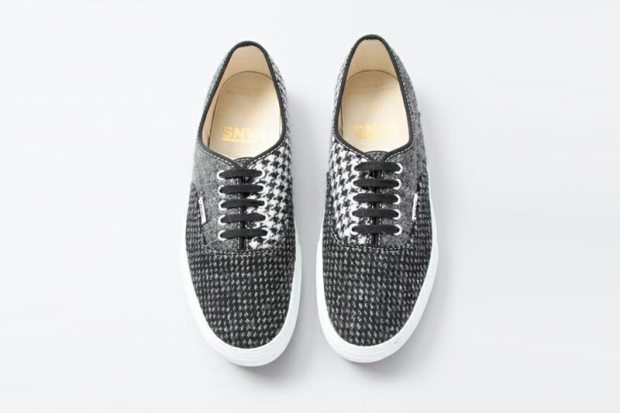 Vans Japan x Beauty and Youth x Harris Tweed – Authentic   Slip-On ... 4ae884dc3f