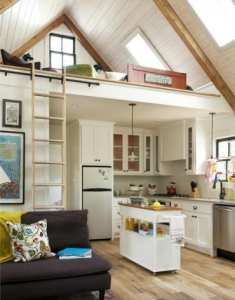 The Little House in Little Rock is a beautiful example of tiny house living done right.