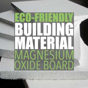 Eco Friendly Drywall Alternative by Of Houses and Trees | Magnesium oxide board is an eco-friendly drywall alternative made with naturally-occurring materials using an environmentally friendly process.