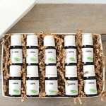 Eco-friendly Christmas gifts are perfect for treehuggers and non-treehuggers alike! Check out this essential oil starter kit for the scent lover on your list.
