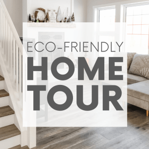 Our eco-friendly home is finally done and I'm so excited to show you all of its sustainable features - such as the solar panels, recycled content materials and secondhand finds!