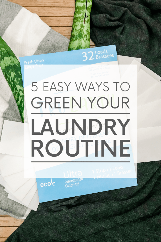 Creating a green laundry routine doesn't have to be difficult. Even small changes like switching your detergent and trapping microplastics can make a big impact.