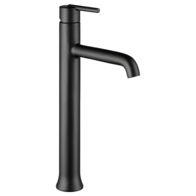 Black bathroom sink faucets are on trend. And thanks to brands like Delta - you can save water in style with their low-flow, WaterSense labelled fixtures.