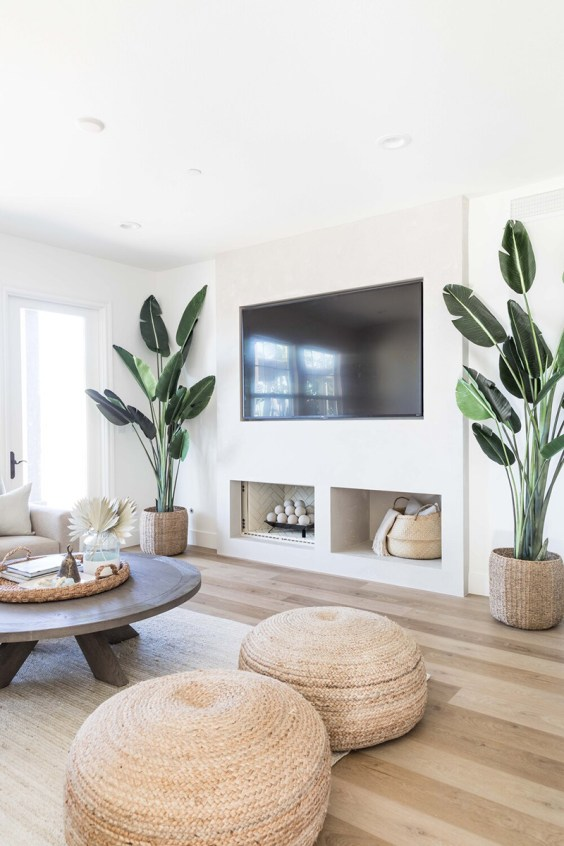 Here's how to create a modern boho living room, which balances the funky boho vibe with clean lines and neutral colours - like this one by Pure Salt Interiors.