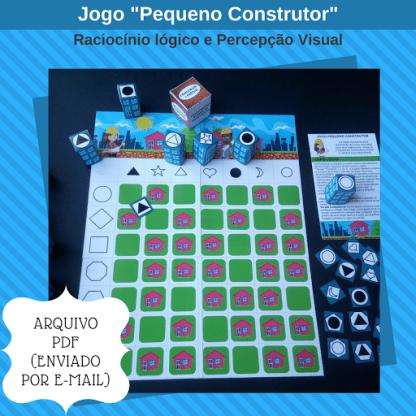 Jogo Pequeno Construtor (Arquivo Digital)