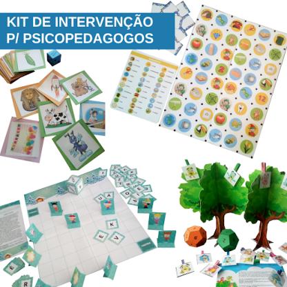 KIT DE INTERVENÇÃO PARA PSICOPEDAGOGOS
