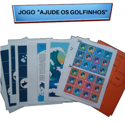 """Jogo """"Ajude os Golfinhos"""" (Arquivo Digital)"""
