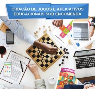 Criação de jogos e aplicativos educacionais sob encomenda