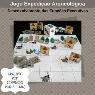 Jogo Expedição Arqueológica com atividades para TDAH