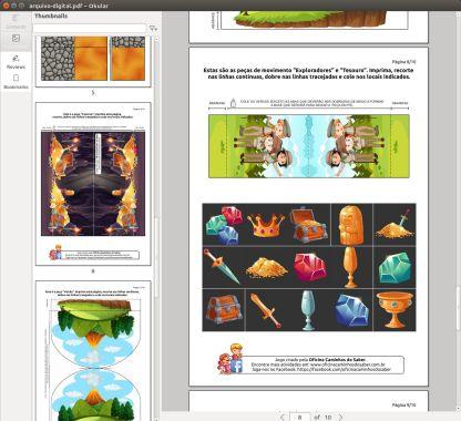 amostra 2 arquivo pdf jogo a fortaleza proibida