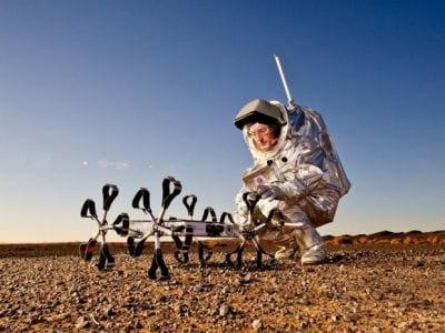 Para simular viagem a Marte, astronautas vivem um mês no deserto