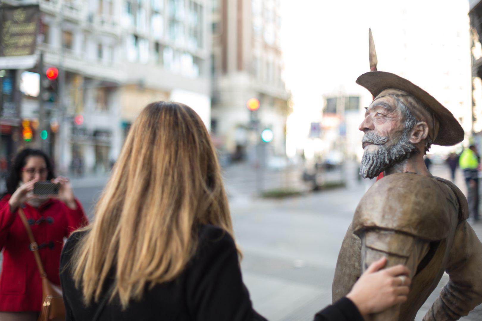Hazte una foto con nuestro personaje más universal: Don Quijote