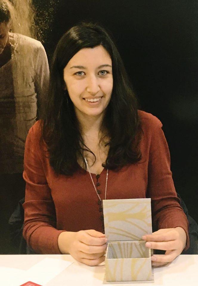 Taller de encuadernación con La artesana Mariló Pérez Blesa