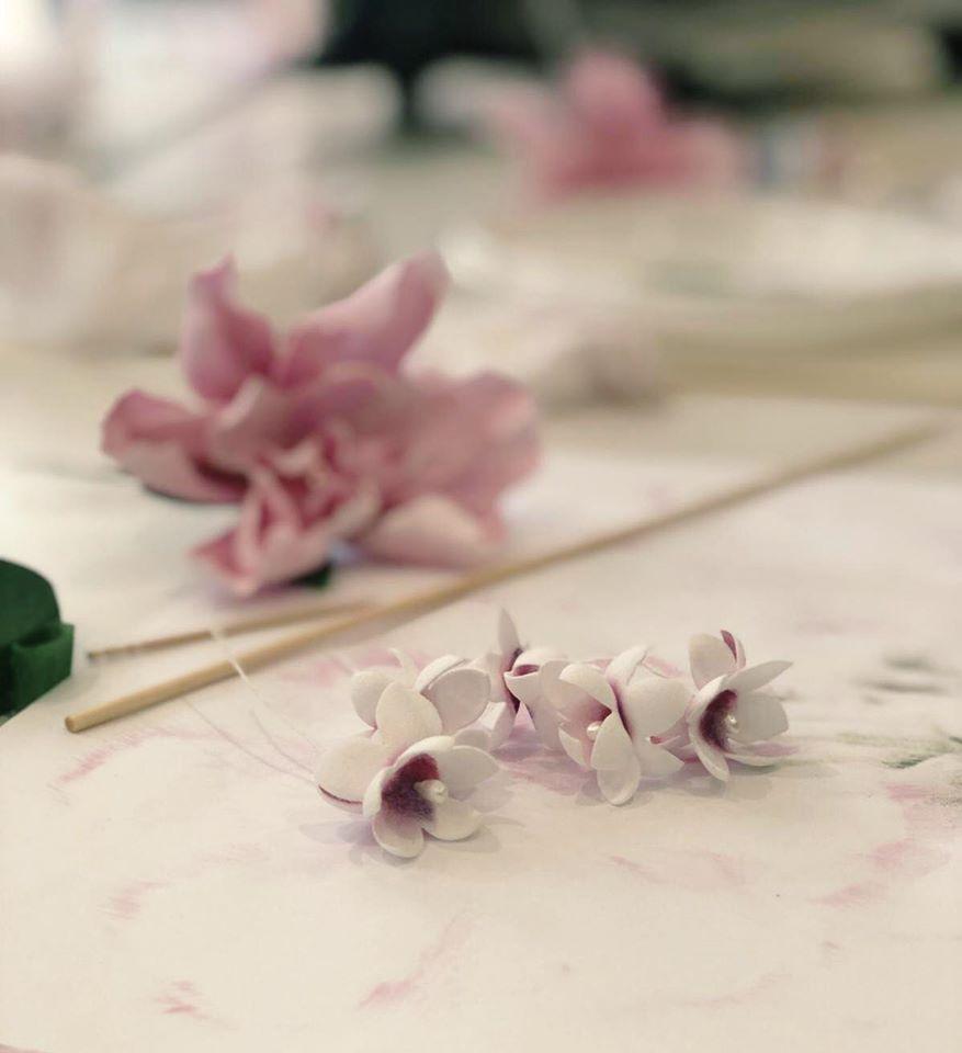 Taller de flores FOAMIRAN con Emma Ribagorda (Talavera)